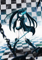 .: Black Rock Shooter :. by Hikari151