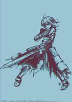 .: Saber Battle Damage Ver. :. by Hikari151