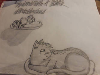 old)) squirrelflight x brambleclaw by korsou101