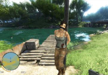 Far Cry: Lara in peril 7 by benja100