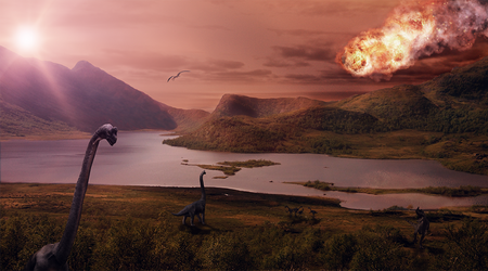 The end of dinosaurs by oosDesign