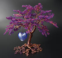 Completion - bead and wire tree of life by Twystedroots