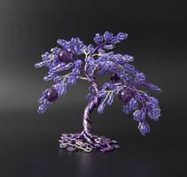 Purple Amethyst by Twystedroots