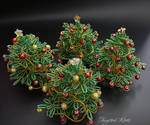 Christmas trees by Twystedroots