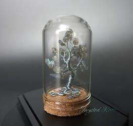 Miniature labradorite tree by Twystedroots