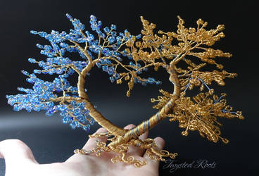 (I give you my) Heart of blue and gold by Twystedroots