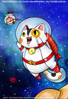 Spacecat by keevs