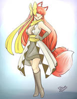Kitsune Commission by keevs