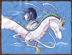 Spirited Away: Haku by Strayfish