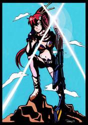 TTGL: Yoko Eyecatch by Strayfish