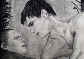 Jacob and Bella by Ashlee41988