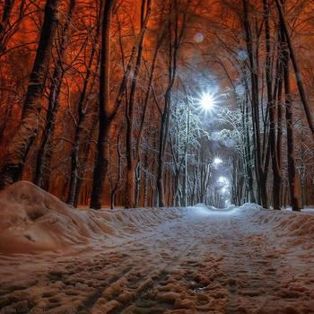 Nightly Kiev. Unreal by AlexGontar