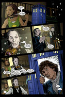 The Doctor and I- comic page 2 by PaulHanley