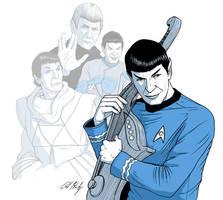 Spock by PaulHanley