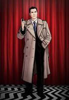 TWIN PEAKS- Agent Cooper by PaulHanley
