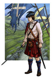 Jamie McCrimmon (The Highlanders) by PaulHanley