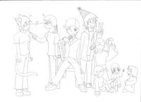 Happy Birthday Artemis 2009 by Freddy-kun