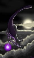 Harbinger of Darkness - Mewtwo by DarkFeather