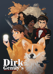 dirk gently. by poikas