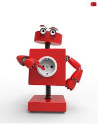 Redbox robot by Peet-B
