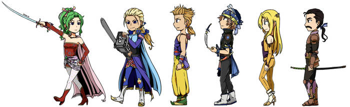 Final Fantasy VI - Returners by Ahrrhd