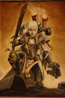 Adeptus Sororita Battle Sister Prioris by Boloblotz