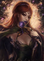 the green witch by DenaHelmi