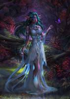 Tyrande Whisperwind by DenaHelmi