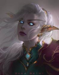 elven lady by DenaHelmi