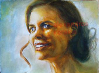 Nicole Kidman by alexkorakis