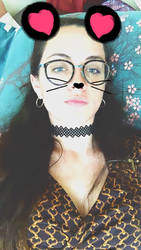 Sassy Cat xoxo by MyxxIllusion