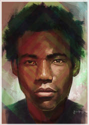 Gambino by JulianPerryArt