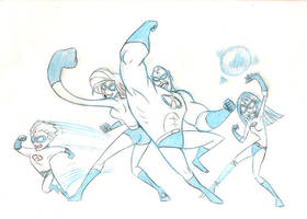 Incredibles Sketch by Dustin-C