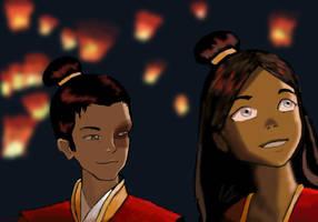 The Lantern Festival by Abayomi