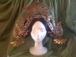 Suh Wang Mo's Headdress by Abayomi
