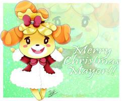 Merry Christmas Mayor by Ivory-Ice