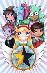 Star Vs Group by Ivory-Ice