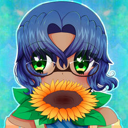 Sunflower Icon 2 by Ivory-Ice