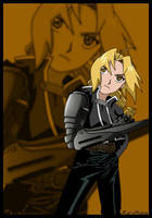 Edward: Blade Arm by KuroHane