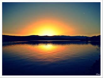 Sunset_Bg by PSMnt
