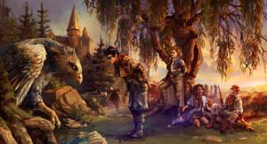 Back at Hogwarts by Alea-Lefevre