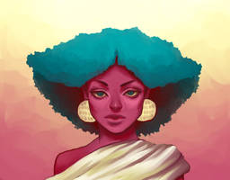 Green Fro by remnant-of-the-moon
