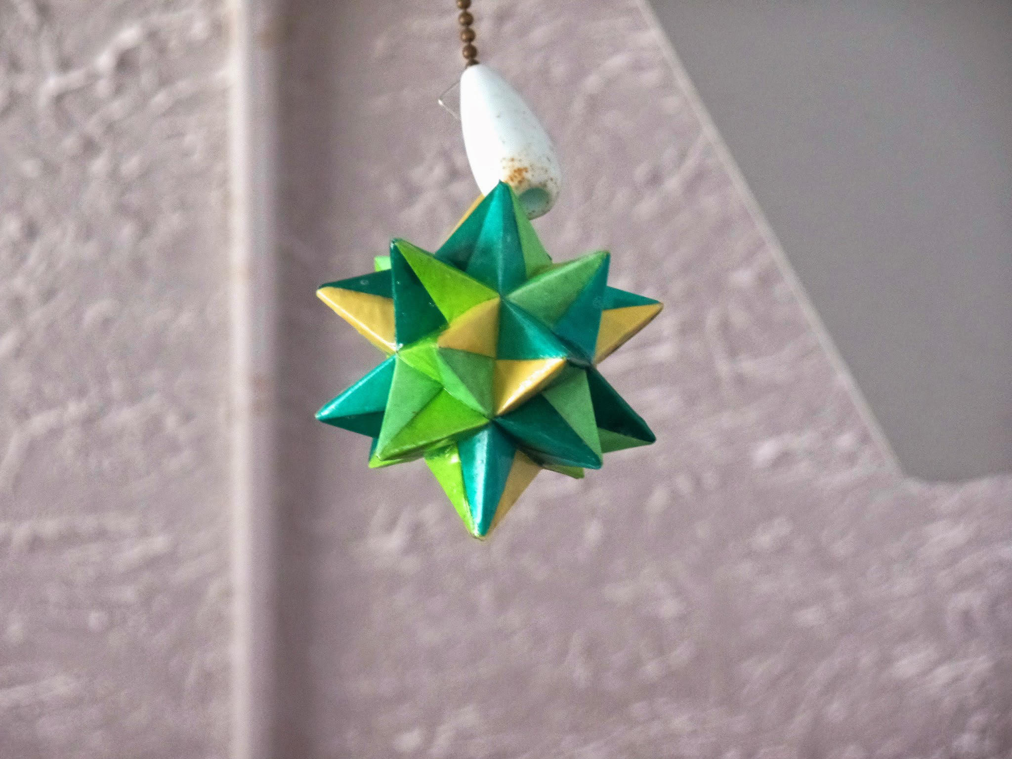 Origami Modular Star in Polycrylic by demuredemeanor