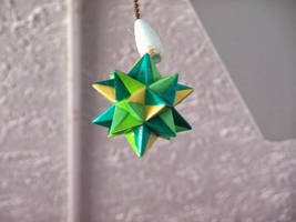 Origami Modular Star in Polycrylic by demuredemeanor