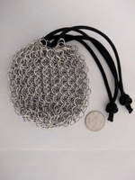 Chainmail pouch - 'Big' links, empty by demuredemeanor