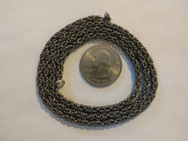 Byzantine Necklace - 22ga Titanium by demuredemeanor