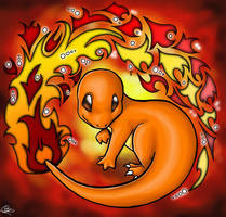 Fiery Charmander by madelief