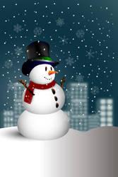 Snowman by magurodelta