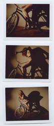 bike polaroids by Stephanie-Anne
