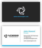 business card Noesis by kribzz